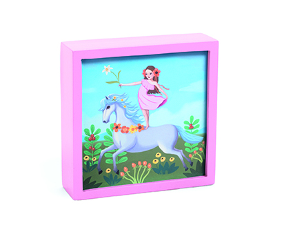 Enchanted Unicorn Little Big Room By Djeco