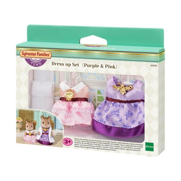 Dress Up Set (Pu & Pk) Sylvanian Families