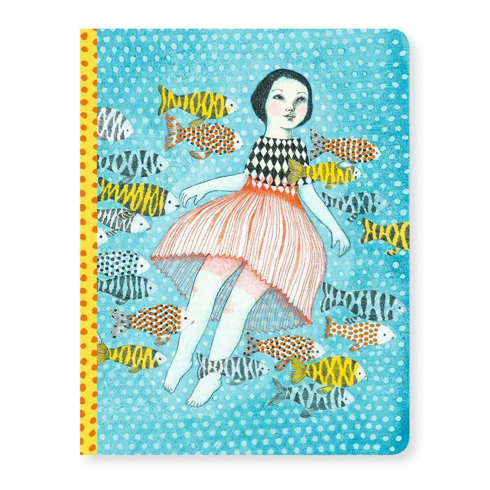 Elodie Notebook Lovely Paper