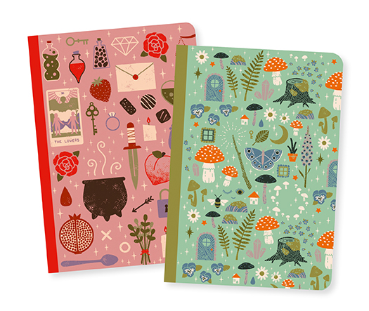 Camille Little Notebooks Lovely Paper By Djeco