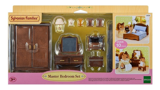 [5039] Master Bedroom Set Sylvanian Families