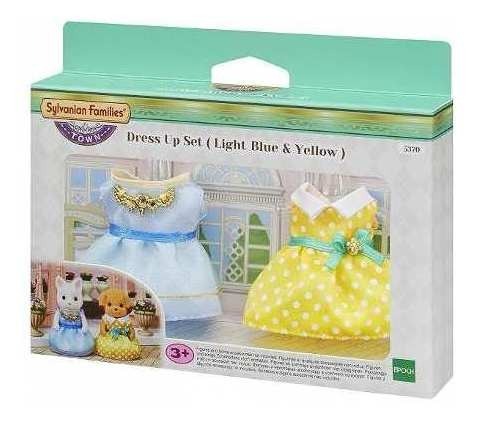 [5370] Dress Up Set (Lb & Ye) Sylvanian Families