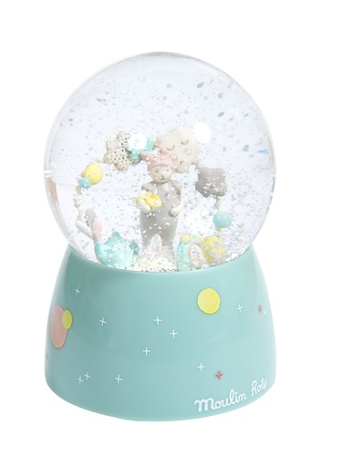 [663241] Musical Snow Globe Moulin Roty