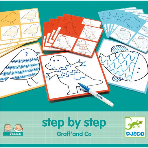 [DJ08324] Step By Step Graff' And Co  Djeco