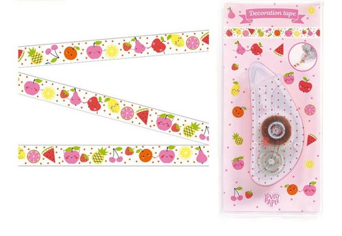 [DD03642] Fruits Lovely Paper By Djeco