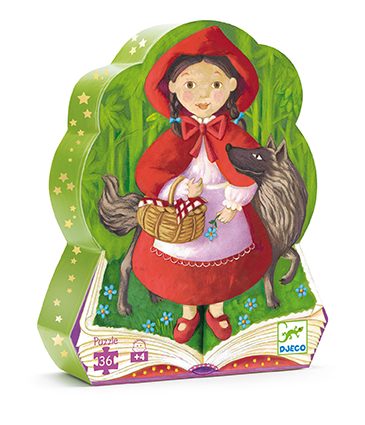 [DJ07230] Little Red Riding Hood - 36 Pcs Djeco
