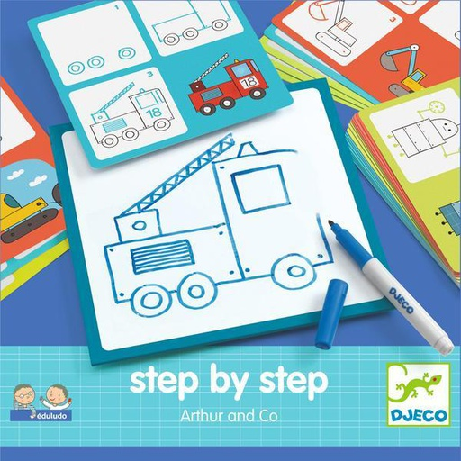 [DJ08321] Step By Step - Arthur And Co Djeco
