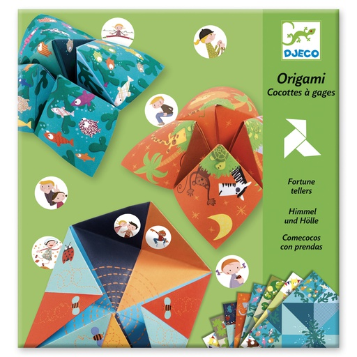 [DJ08764] Origami Bird Game Design By By Djeco