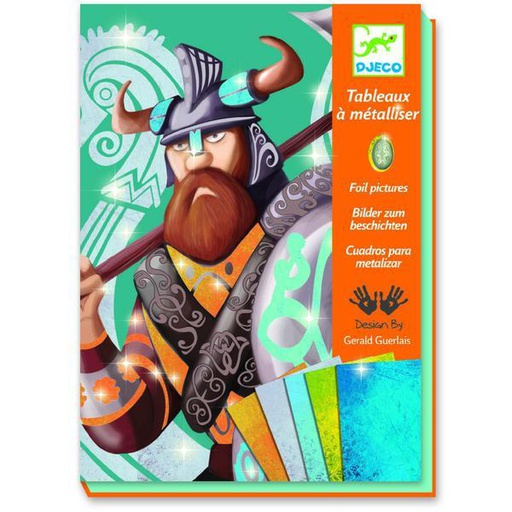 [DJ09512] Vikings Design By By Djeco